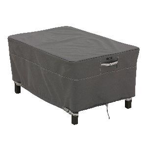 Ravenna - 32 Inch Rectangular Small Patio Ottoman/Table Cover
