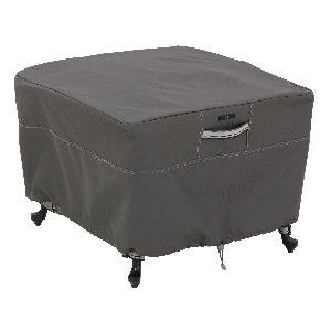 Ravenna - 26 Inch Large Patio Square Ottoman/Table Cover