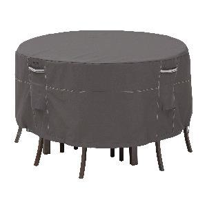 """Ravenna - 29"""" Tall Round Patio Table and Chair Set Cover"""