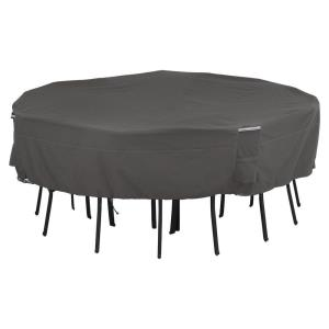 """Ravenna - 98"""" Square Table  and  Chair Cover"""