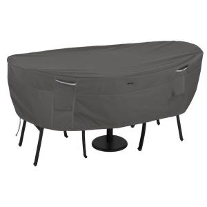 """Ravenna - 82"""" Patio Table  and  Chair Bistro Cover"""