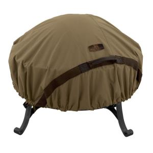 "Hickory - 52"" Round Fire Pit Cover"