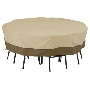 """Veranda - 98"""" Large Square Table  and  Chair Cover"""