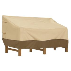 "Veranda - 78"" Medium Deep Love Seat Sofa Cover"