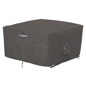 "Ravenna - 44"" Square Fire Pit Table Cover"