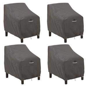 """Ravenna - 38 x 42"""" Deep Seated Patio Lounge Chair Cover (Pack of 4)"""