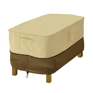 Veranda - 26 Inch Ottoman Side Table Cover