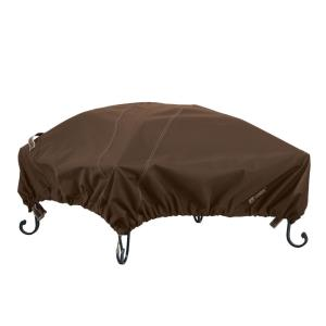 "Madrona - 45 x 45"" RainProof Square Fire Pit Cover"