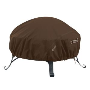 "Madrona - 68 x 68"" Large RainProof Round Fire Pit Cover"