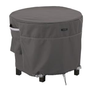 "Ravenna - 36 x 36"" Large Round Patio Ottoman/Table Cover"