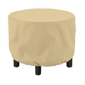 """Terrazzo - 26 x 26"""" Small Round Ottoman/Coffee Table Cover"""