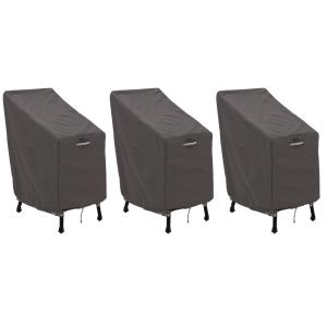 "Ravenna - 46 x 30"" Patio Bar Chair & Stool Cover (Pack of 3)"