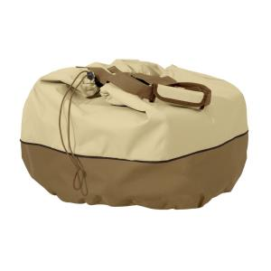 "Veranda - 22 x 22"" Round Table Top Grill Cover & Carry Bag"