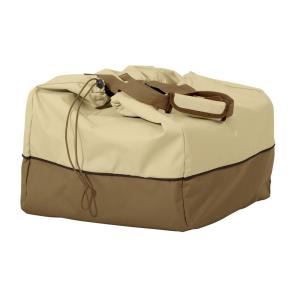 Veranda - 18 x 22 Inch Medium Rectangular Table Top Grill Cover & Carry Bag