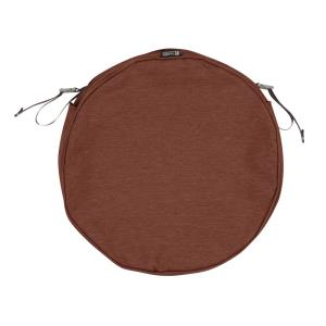 Montlake - 15 x 15 Inch FadeSafe Round Patio Dining Seat Cushion Slip Cover with 2 Inch Thick