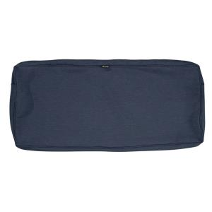 """Montlake - 42 x 18"""" FadeSafe Patio Bench/Settee Cushion Slip Cover with 3"""" Thick"""