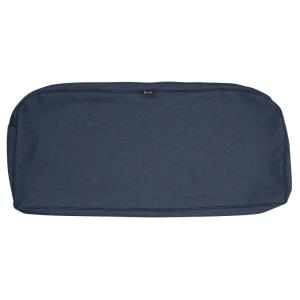 """Montlake - 41 x 18"""" FadeSafe Patio Bench/Settee Contoured Cushion Slip Cover with 3"""" Thick"""