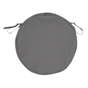 """Montlake - 18 x 18"""" FadeSafe Round Patio Dining Seat Cushion Slip Cover with 2"""" Thick"""
