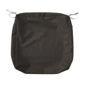 Ravenna - 19 x 21 Inch Rectangular Patio Seat Cushion Slip Cover