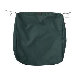 Ravenna - 23 x 23 Inch Square Patio Seat Cushion Slip Cover