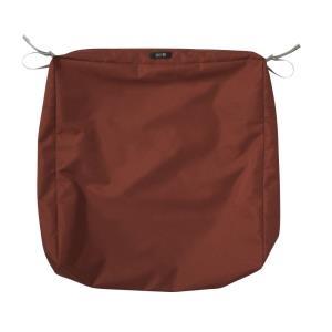 Ravenna - 25 x 25 Inch Square Patio Seat Cushion Slip Cover