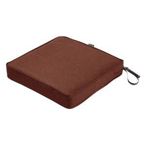 "Montlake - 17 x 17"" Square Patio Dining Seat Cushion"