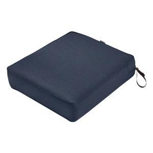 """Montlake - 21 x 25"""" Rectangular Patio Lounge Seat Cushion"""