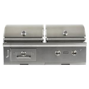 50 Inch Built-In Gas/Charcoal Hybrid Grill