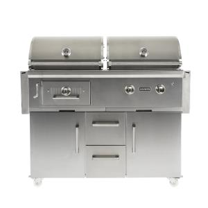 Cart For Hybrid Grill