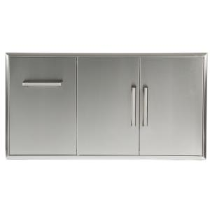 Combo Drawers Pull Out Drawer plus Double Access Doors