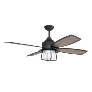 """Waterfront - 52"""" Ceiling Fan with Light Kit"""
