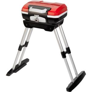 Petit Gourmet - 31 Inch Portable Outdoor LP Gas Grill with Versa Stand
