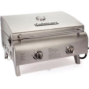 "21.7"" Chef's Style Tabletop Gas Grill"
