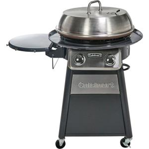 22 Inch Deluxe Outdoor Griddle Cooking Center with 1 Folding Prep Table and Paper Towel Holder