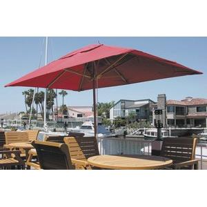 Huntington - 6.5'x10' Rectangular Market Umbrella