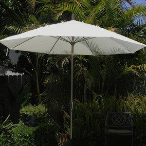 Monterey - 9' Octoganal Market Umbrella with Anodized Finish