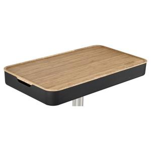 """28.94"""" Bamboo Table Insert for Fusion Pedestal (Stand not included)"""