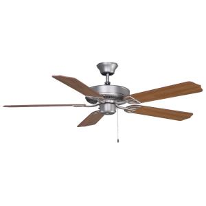 Aire Dcor 5 Blade 52 Inch Ceiling Fan with Pull Chain Control and Optional Light Kit