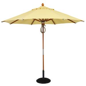 Wood - 9' Octagon Umbrella