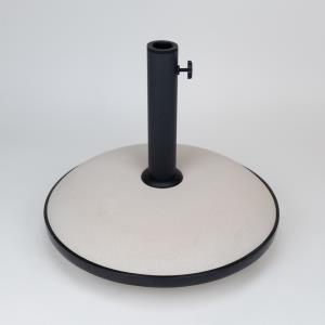 19 Inch 55 lbs Concrete Base Fits up to 1.75 Inch Umbrella Poles