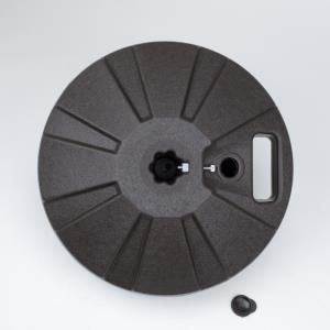 16 Inch Plastic Umbrella Base Fits 1.5 Inch Umbrella Poles