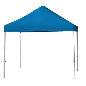 Deluxe Tent - 10' Square Umbrella with with Canopy and No Curtain