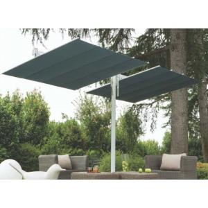 Flexy Twin 8'x17' Double Canopy Silver Frame