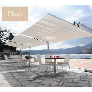 Flexy - 8' x 12' Commercial Dual-Post Umbrella