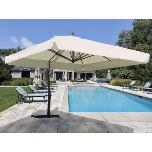 P-Series - 9.5' x 9.5' Square Giant Cantilever Umbrella