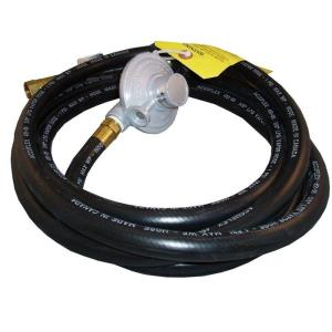 Liquid Propane Extension Hose with Elbow Fitting