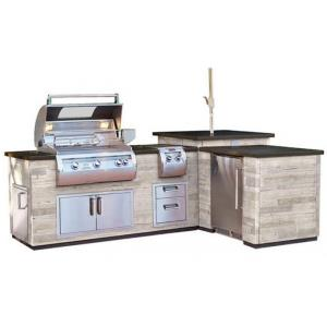 L-Shape Reclaimed Wood Island E660i and A660i