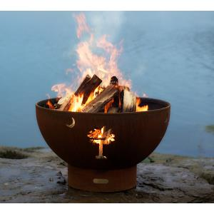 "36"" Tropical Moon Fire Pit"