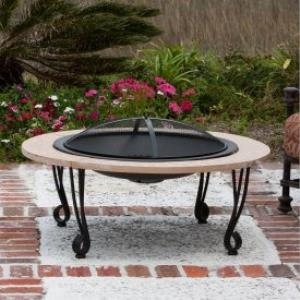 39 Inch Cast Iron Fire Pit
