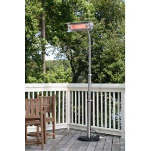 "92"" 1500W Telescoping Offset Pole Mounted Infrared Patio Heater"